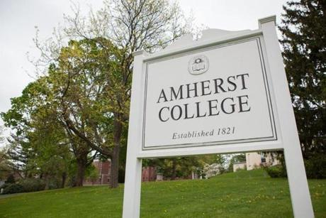 Amherst College was all-male until 1975. Starting July 1, students who violate the new rules will face sanctions.